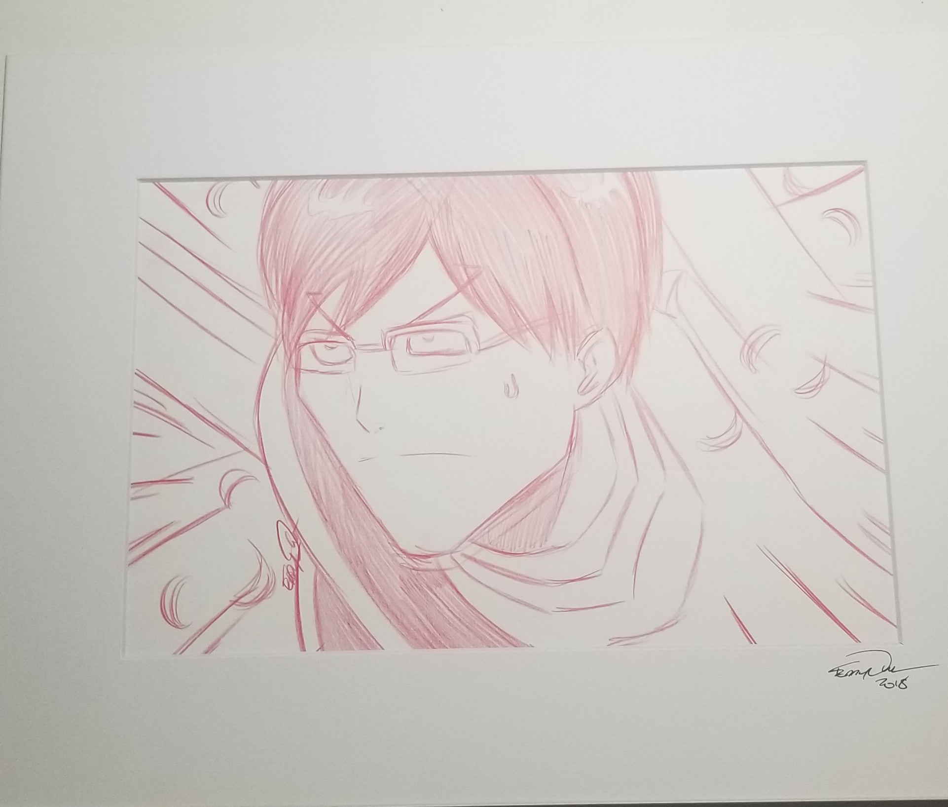Original Art (Iida Sketch)