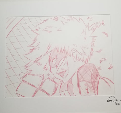 Original Art (Bakugo Sketch)