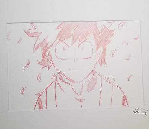 Original Art (Midoriya Sketch)