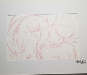 Original Art (One Punch Man Sketch)