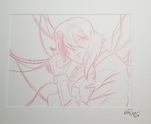 Original Art (Major Sketch)