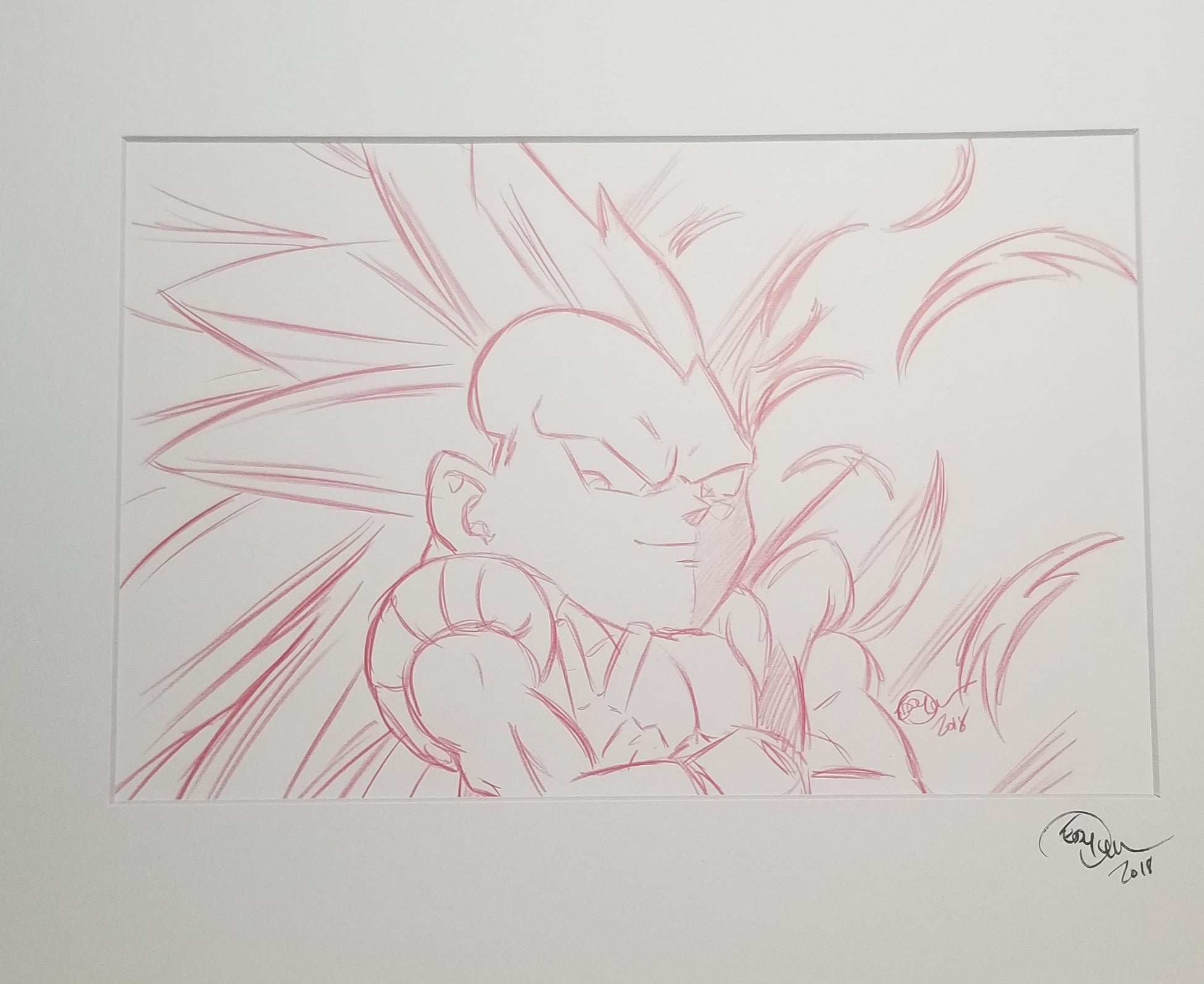 Original Art (Gotenks Sketch)