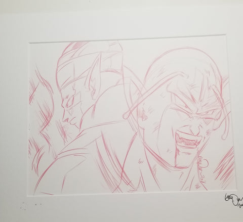 Original Art (Piccolo Sketch)