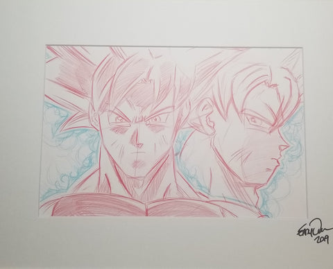 Original Art (Ultra Instinct Goku Sketch)