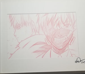 Original Art (Kaneki Sketch)