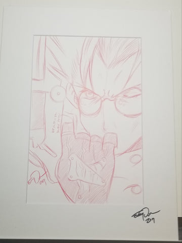 Original Art ( Vash Sketch)