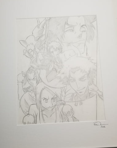 Original Art (Samurai Champloo Sketch)
