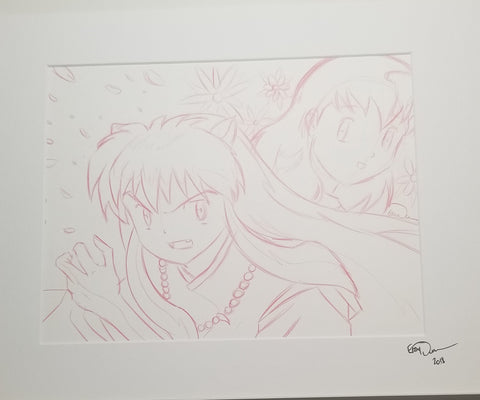 Original Art (Inuyasha Sketch)