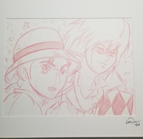 Original Art (Howls Moving Castle Sketch)