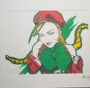 Original Art (Cammy Mixed Media)