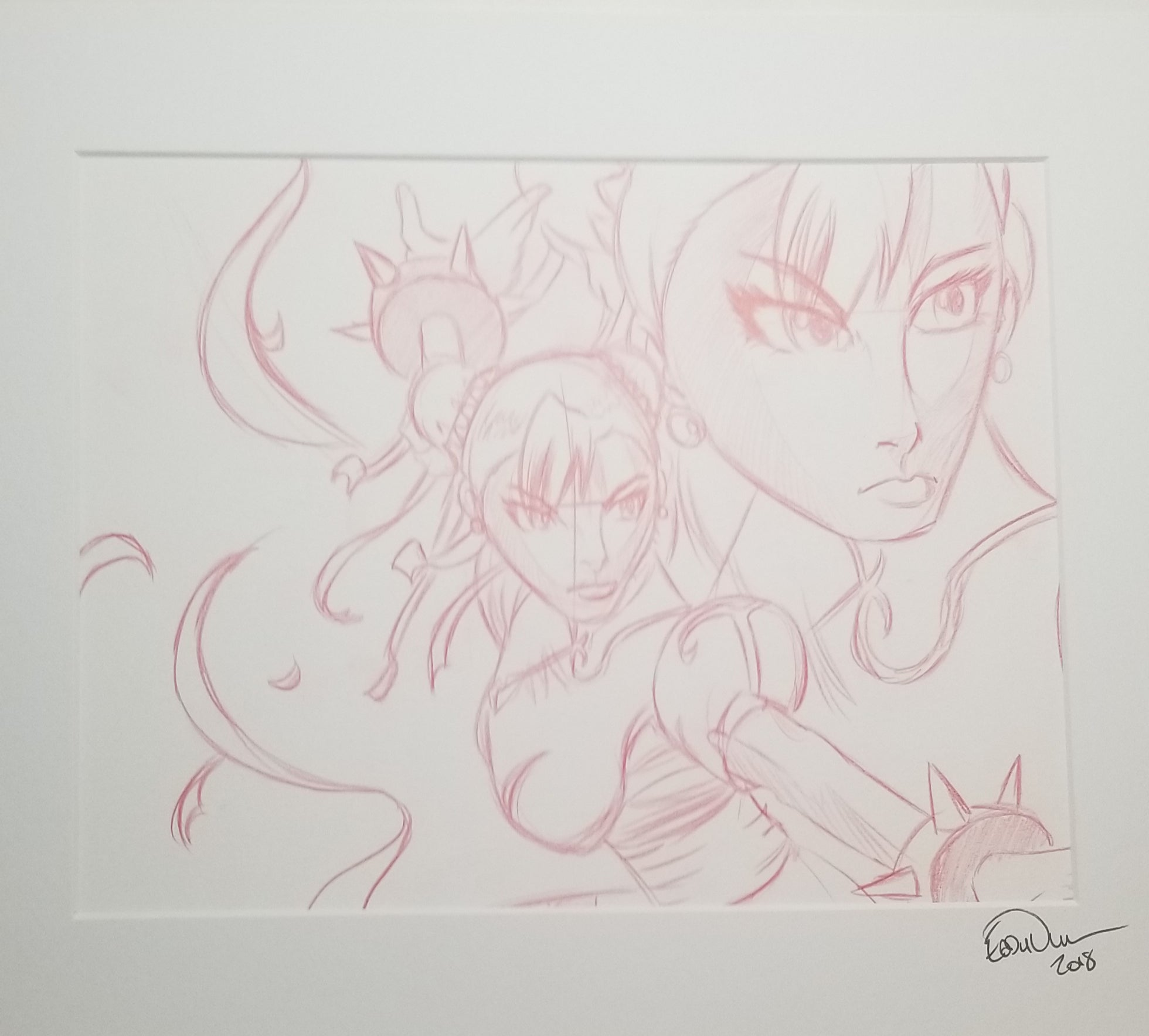 Original Art (Chun-Li Sketch)