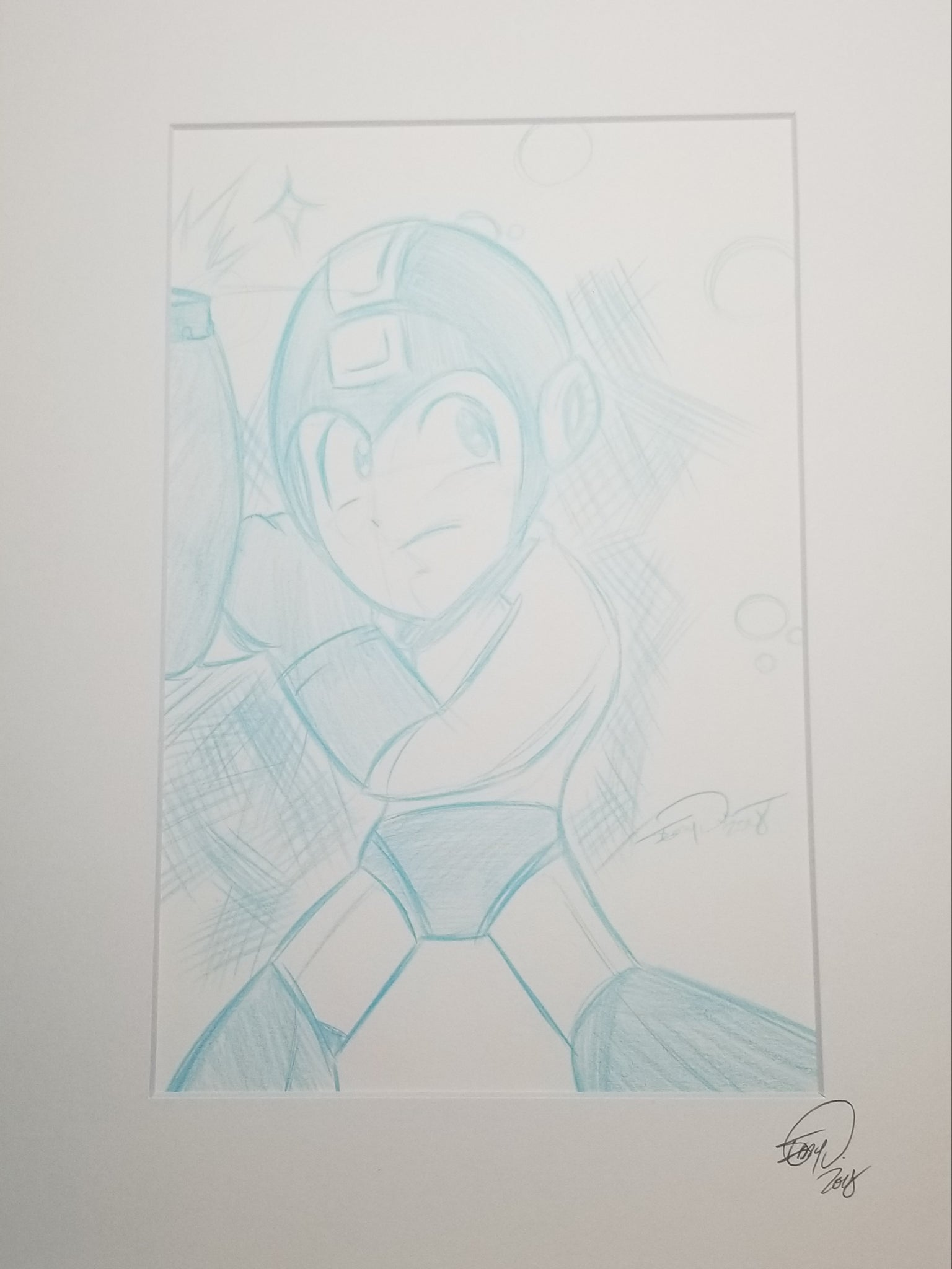 Original Art (Megaman Sketch)