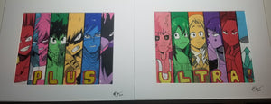 Original Art (My Hero Academia Mixed Media)