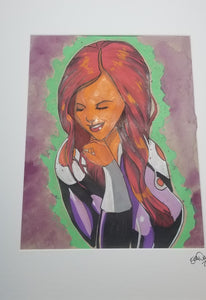 Original Art (Starfire Mixed Media)