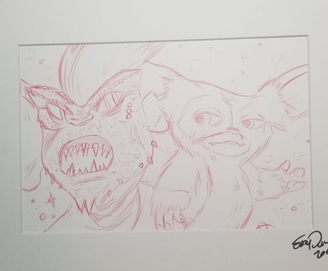 Original Art (Gizmo Sketch)
