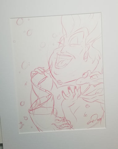 Original Art (Ursula Sketch)