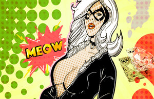 Black Cat Pop Art