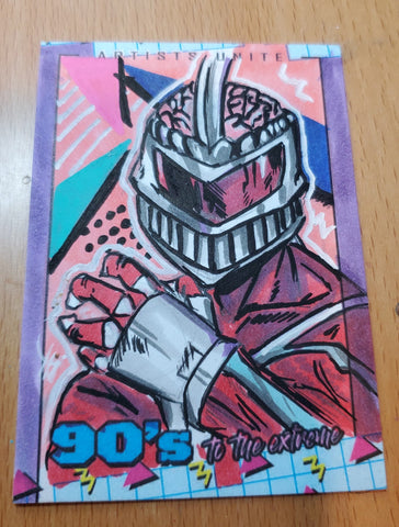 Lord Zedd (Power Rangers) Sketch Card