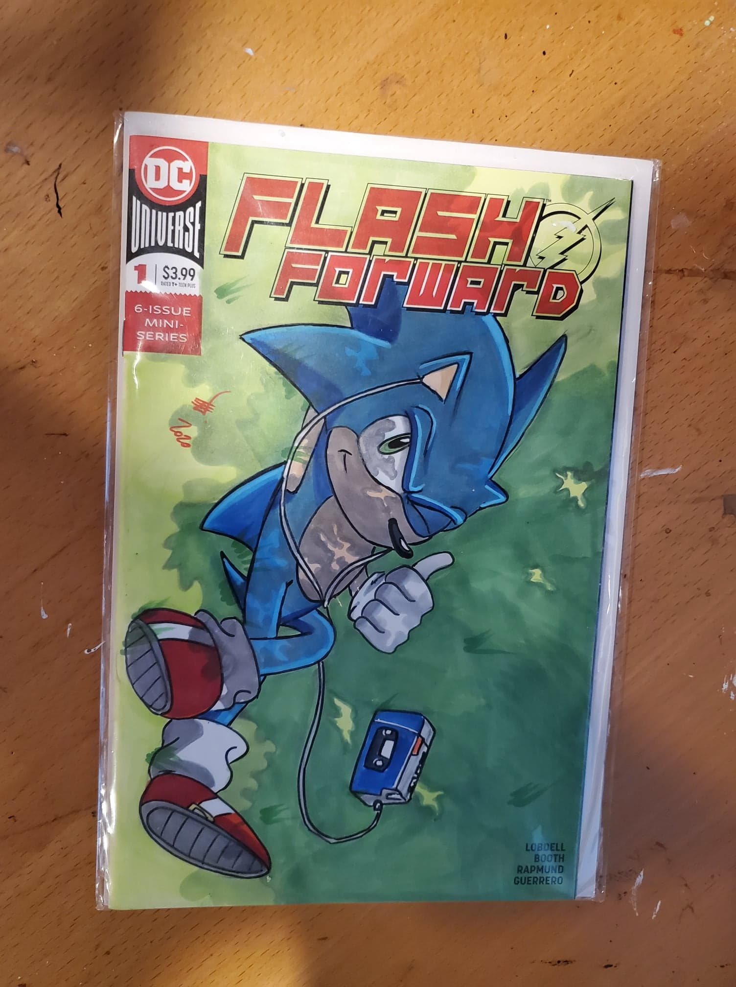 Sonic Sketch Cover