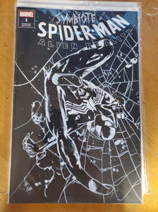 Black Suit Spiderman Sketch Cover