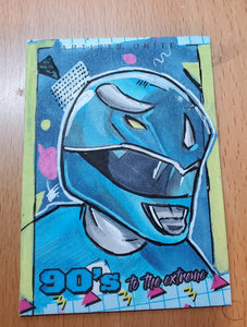 Blue Ranger (Power Rangers) Sketch Card
