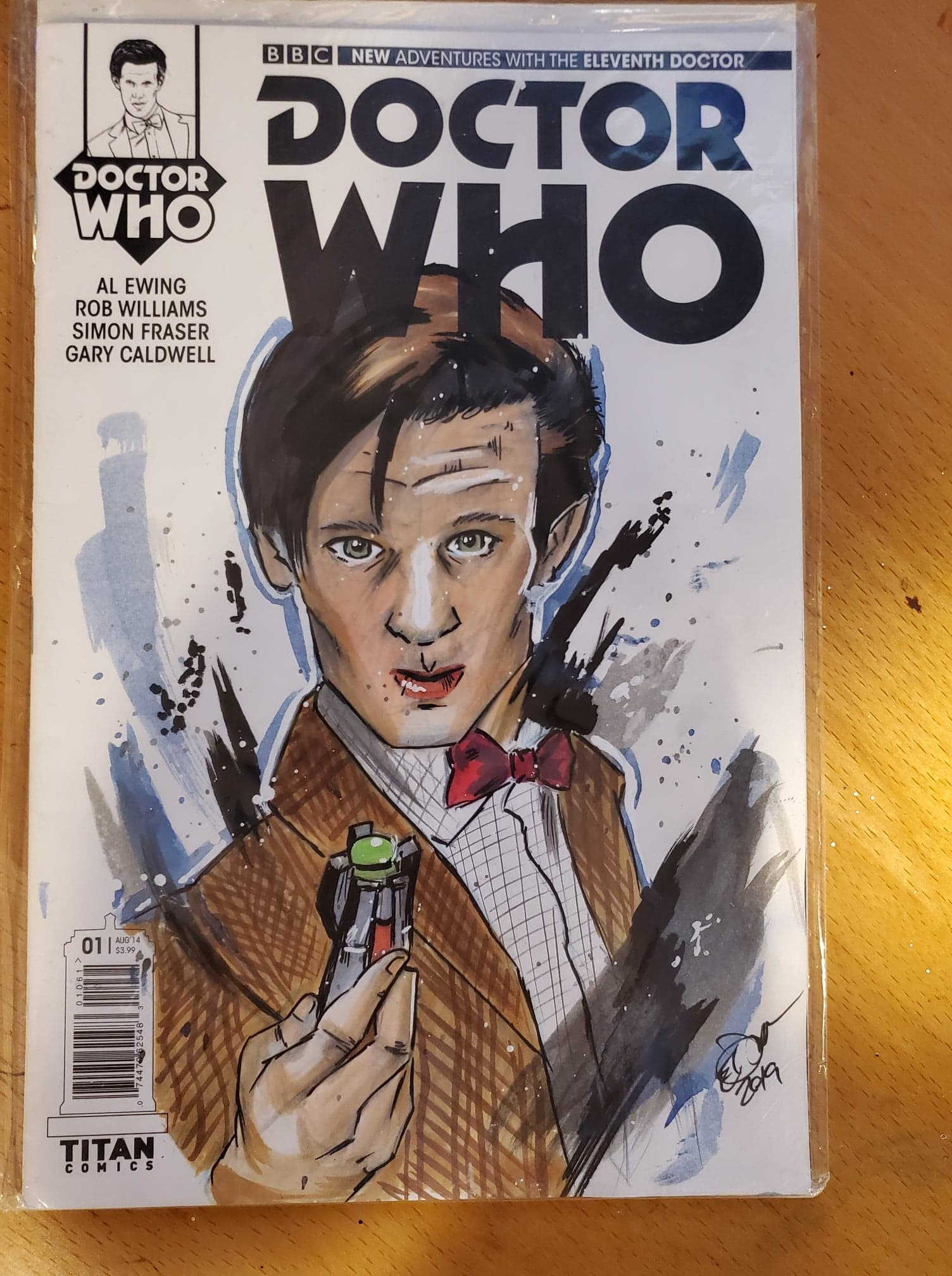 Dr. Who Sketch Cover