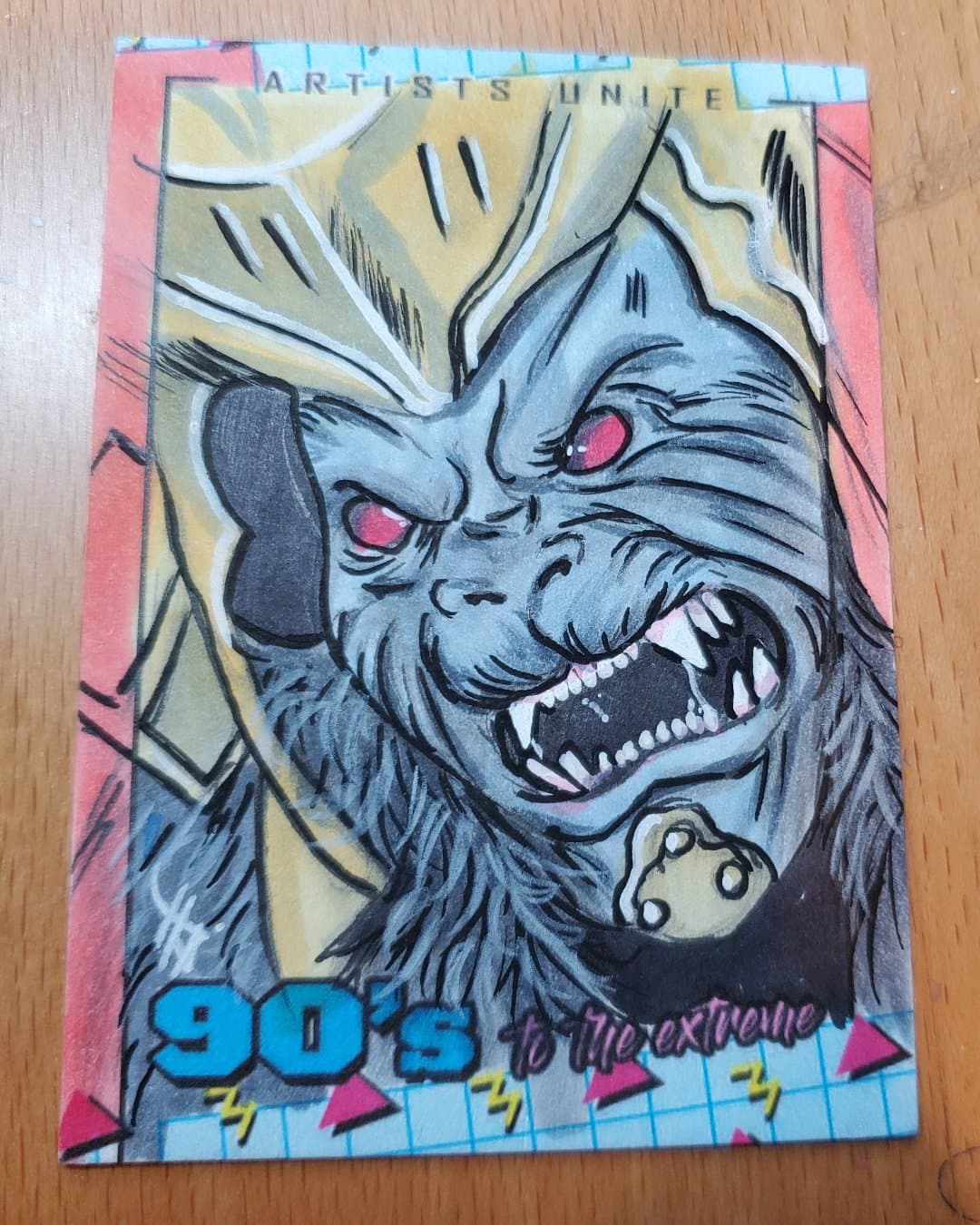 Goldar Sketch Card