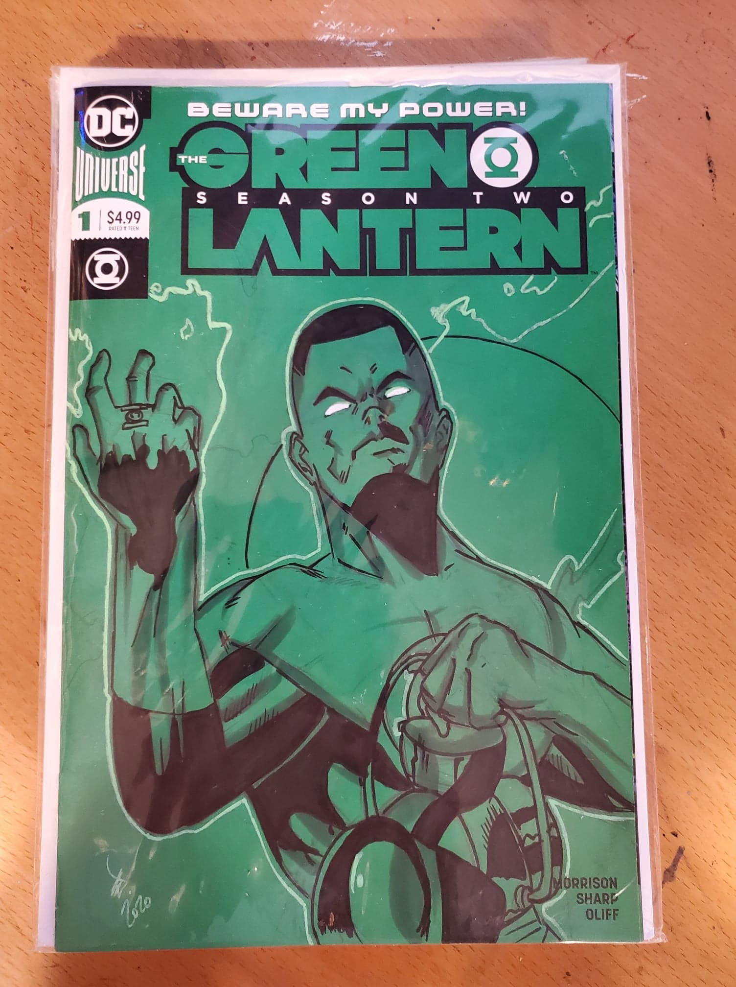 Green Lantern Sketch Cover (John Stewart)