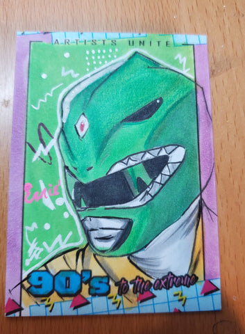 Green Ranger (Power Rangers) Sketch Card
