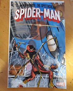 Iron Spider Armor Sketch Cover
