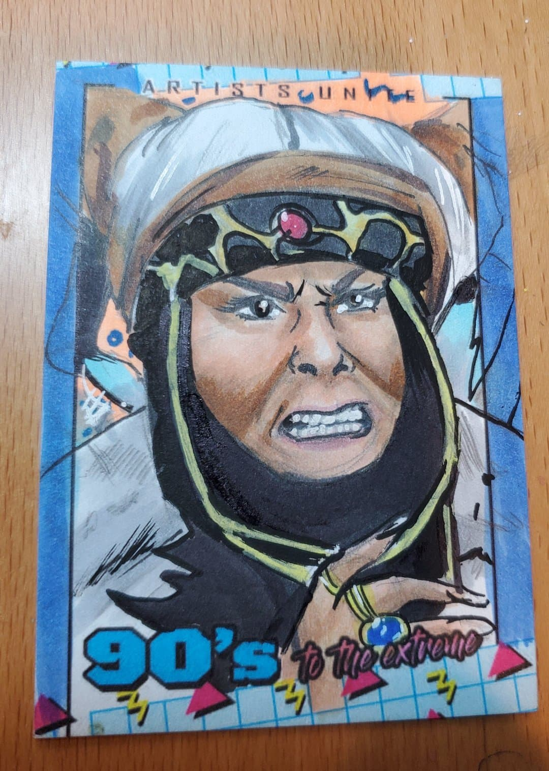 Rita Repulsa (Power Rangers) Sketch Card