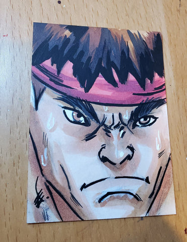 Ryu (Street Fighter) Sketch Card