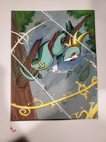 Original Art (Serperior)