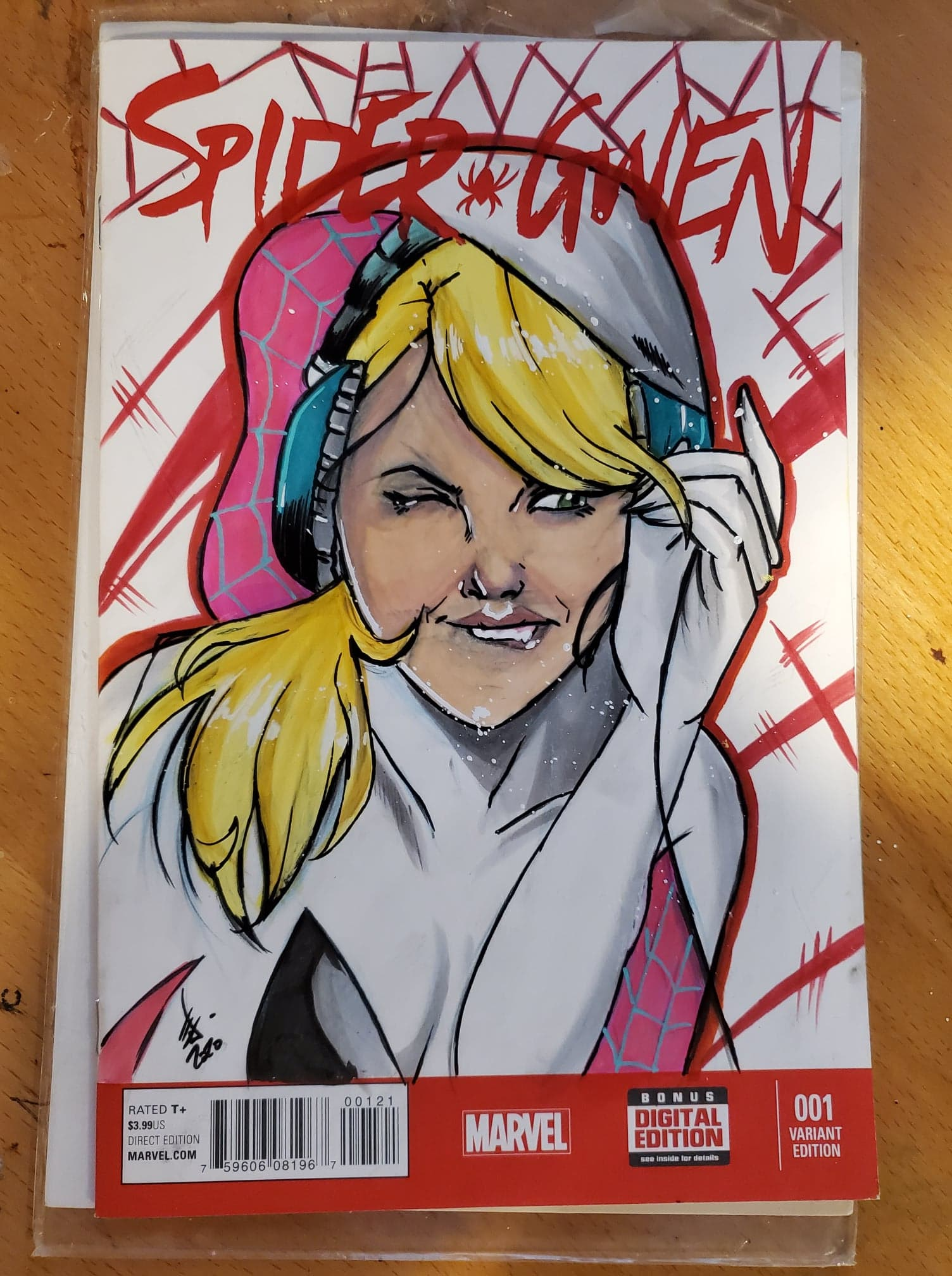 Spider Gwen Sketch Cover
