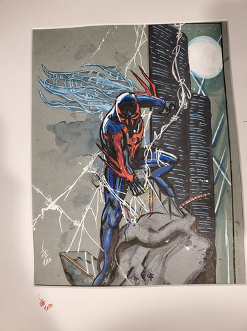 Original Art (Spiderman 2099)