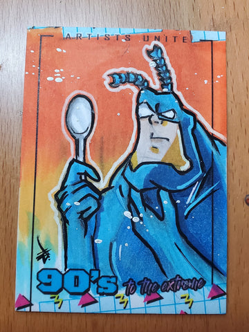 The Tick Sketch Card