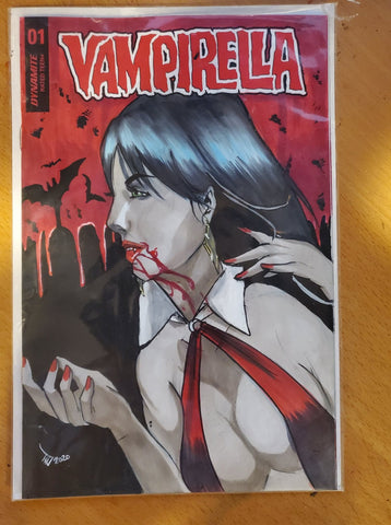 Vampirella Sketch Cover