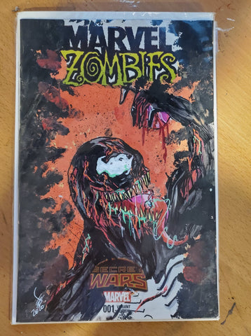 Venom Zombie Sketch Cover