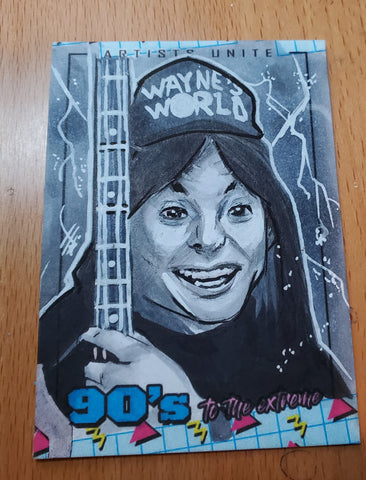 Wayne Sketch Card (Wayne's World)
