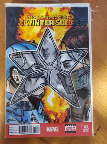 Winter Soldier Sketch Cover