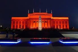 Auckland War Memorial Museum Exterior Lighting