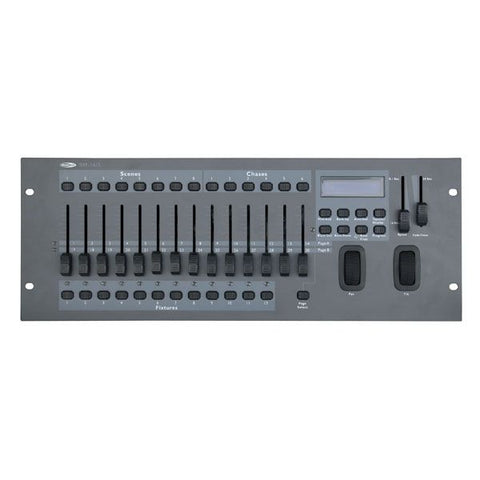 Showtec SM-16/2 - 12 Fixtures with up to 32 channels each