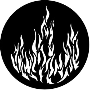 Rosco Metal Gobo - Flames 1