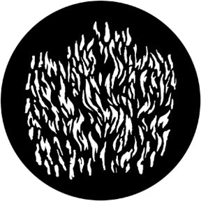 Rosco Metal Gobo - Flames 4