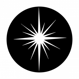 Metal Gobo - Christmas Star ME-3280