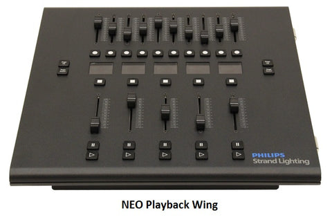 Philips Strand Neo Fader WIng - Playback  Wings
