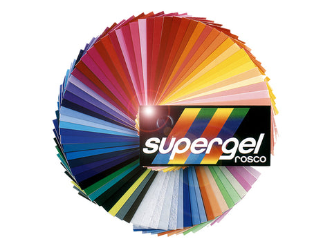 Rosco Supergel Gel Swatch Book
