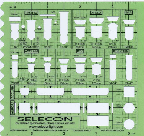 Selecon Lighting Stencil