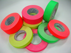 Fluro Gaffer Tape - Ultra Matte, Long roll 45m