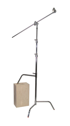 "756040 40"" C-Stand w/Sliding Leg, Includes Grip Head & Arm"